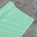 Кожзам на тканевой основе в ромбик, отрез 34х45 см, цвет мятный