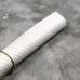 Кожзам на тканевой основе в ромбик, отрез 34х45 см, цвет белый