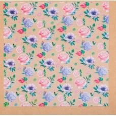 Ацетатный лист «Нежные мечты», 20 × 20 см