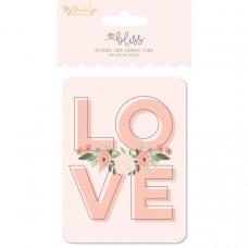Набор карточек с фольгированием Bliss Double-Sided Journal Cards от My Minds Eye