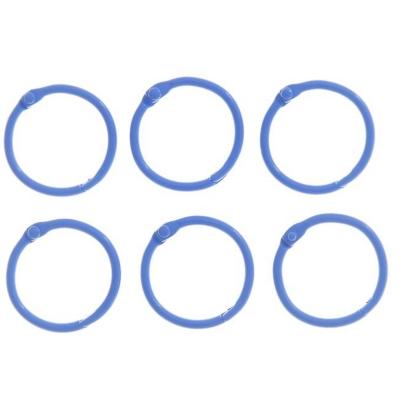 """Кольца для творчества  """"Синее"""" набор 6 шт d=3 см"""