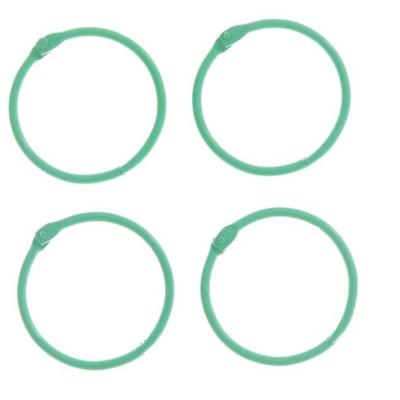 """Кольца для творчества """"Светло-зелёное"""" набор 4 шт d=4,5 см"""