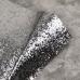 Отрез ткани с крупным глиттером, 35х50 см, цвет серебро
