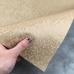 Отрез кожзама на тканевой основе соты, 34х45 см, светло-коричневый