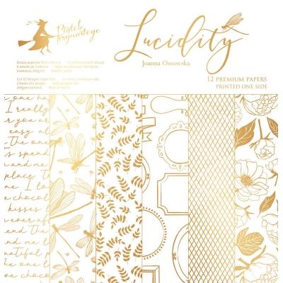 "Набор бумаги ""Lucidity"" 30,5х30,5 см. 12 односторонних листов"