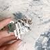 Надпись из серебряного акрила Little you, 6,7х5 см