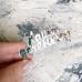Надпись из серебряного акрила Наша доченька, 7,5х2,8 см