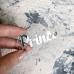 Надпись из серебряного акрила Prince, 5,7х2,2 см
