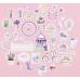 Набор декоративных высечек «Прованс», 10 × 14 см
