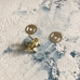 Магнитная кнопка, 14 мм, золото