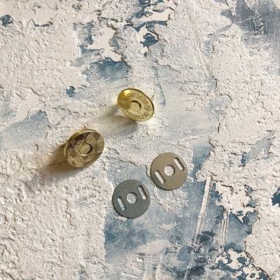 Магнитная кнопка, 18 мм, золото