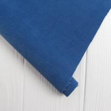 Отрез микро флока на нетканной основе, цвет ярко-синий, 33х70 см