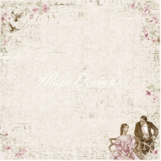 Лист 30х30 Vintage Romance - Love is in the air,Maja Design