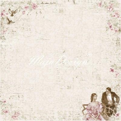 Лист 30х30 Vintage Romance - Love is in the air,Maja Design