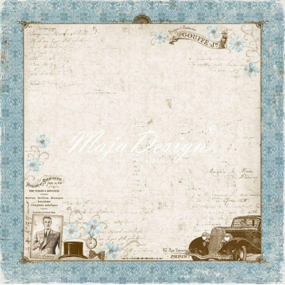 Лист 30х30 Vintage Romance - He is my Man,Maja Design