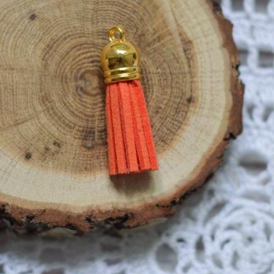 Кисточка замша, оранжевый