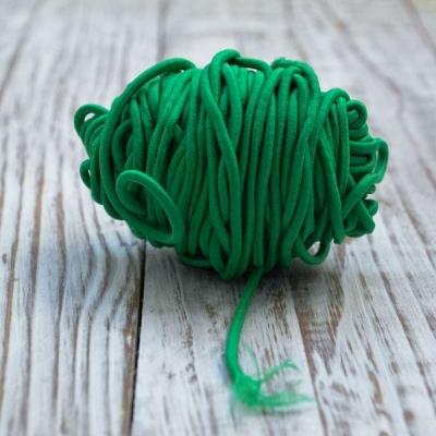 Резинка круглая 2,5 мм,отрез 1 м, травяная