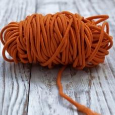 Резинка круглая 2,5 мм,отрез 1 м, оранжевая
