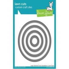Ножи для вырубки со строчкой круги Lawn Cuts Custom Craft Stackables Dies