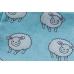 Ткань для пэчворка Stof Овечки голубые 50х55 см