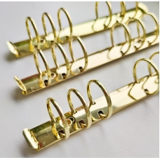 Кольцевой механизм 17 см (а6), диаметр 3,5 см, золото (крепления в комплекте)