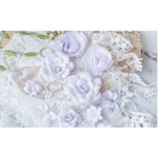 "Набор цветов Pastel Flowers ""DIAMOND"" сиреневый"