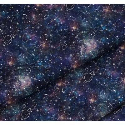 """Отрез премиум-хлопка """"Вселенная"""", 40х50см"""