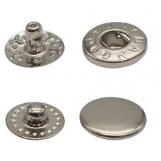ВТ-2 Кнопка 10мм, сталь, серебро