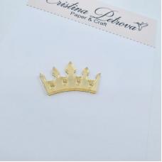 Фигурка из акрила Корона, золото, Cristina Petrova