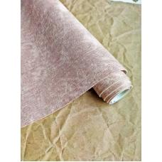 Кожзам на тканевой основе Мятые джинсы - розовый, 34х45см