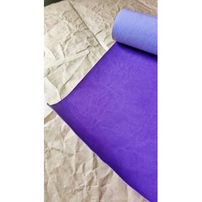 Переплетный кожзам матовый фиолетовый без тиснения 35х50 см