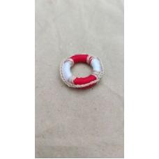 Спасательный круг с красным