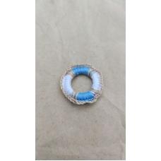 Спасательный круг с синим