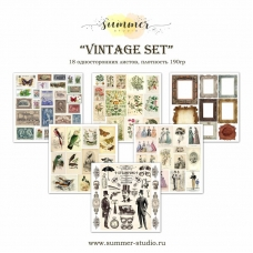 """Набор для вырезания """"Vintage set"""""""
