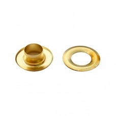 Люверс №4 (6мм), золото, 200 шт.