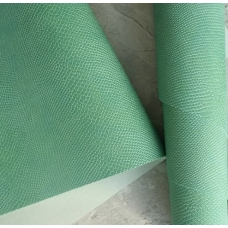 Переплетный кожзам ментоловая мята с тиснением под кожу питона 35х50 см