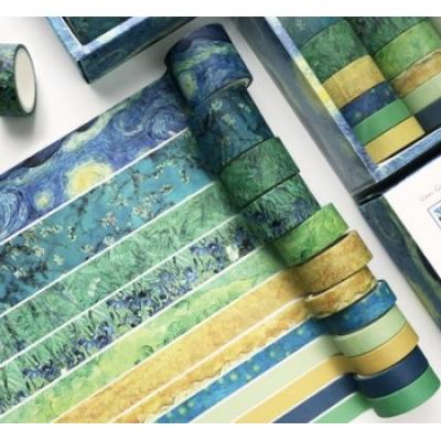 Набор декоративных скотчей, цвет - Ван Гог
