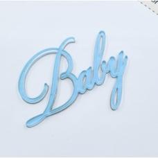 Надпись из акрила Baby, Cristina Petrova