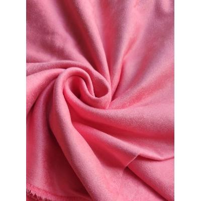 """Замша двухсторонняя """"Розовая карамель"""", 25х70 см"""