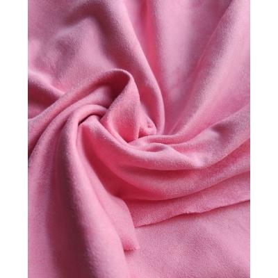 """Замша двухсторонняя """"Розовый риф"""", 25х70 см"""