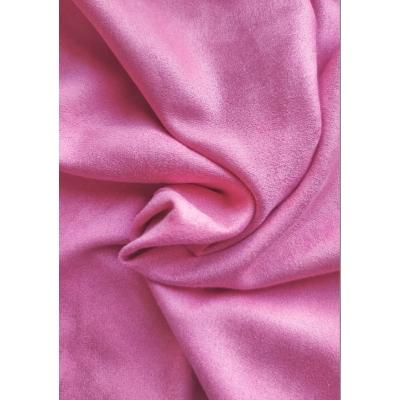 """Замша двухсторонняя """"Розовый леденец"""", 25х70 см"""