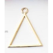 Подвеска в форме треугольника