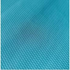 Переплетный кожзам голубой с тиснением ромбы  33х70 см