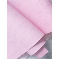 Переплетный кожзам лилово-розовый с тиснением под мятую кожу 35х50 см