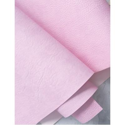 Переплетный кожзам лилово-розового цвета с тиснением под мятую кожу 35х50 см