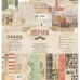 "Набор бумаги 30х30 ""Шерлок"" от Craft Paper"