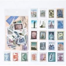 """Стикеры в форме марок """"Путешествия"""""""