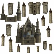Высечки Старинный замок