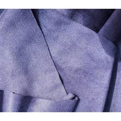 "Замша двухсторонняя фиолетовая ""Purpura"", 25х70 см"