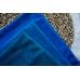 "Замша двухсторонняя синяя ""Пыльная лазурь"", 25х70 см"
